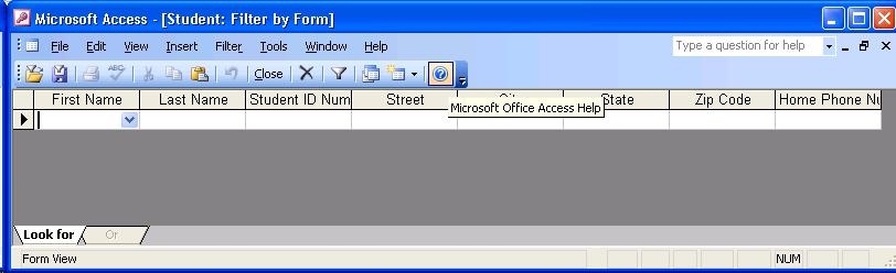 LMC CSC-151 Microsoft Access 2003 Reference